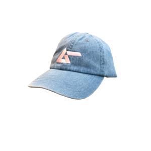 パステルロゴ刺繍キャップ ピンク|basica-store