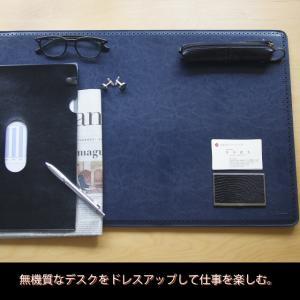 デスクマット ブローグ マウスパッド ビジネス 書斎|basicstyle