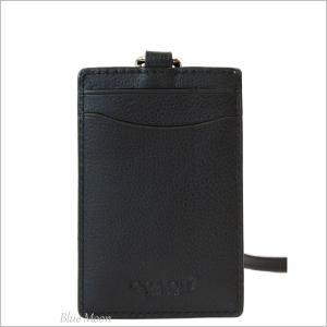 コーチ IDカードホルダー IDケース COACH メンズ ネックストラップ 縦型 アウトレット ブラック F58114 BLK|basilshop