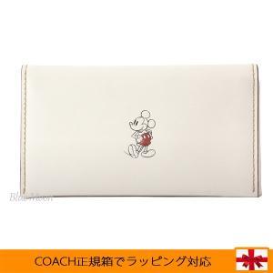 コーチ スマホケース COACH iPhone5/6/7ケース レディース ディズニー ミッキー コラボ アウトレット F58942 CHK basilshop
