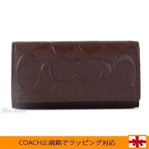 コーチ キーケース COACH アウトレット メンズ 4連キーホルダー メンズ F66293 MAH|basilshop