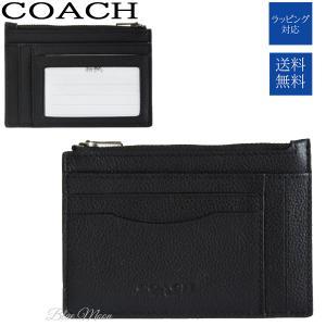917505bbe784f7 コーチ COACH コインケース メンズ カードケース パスケース メンズ 本革 アウトレット ブラック 黒