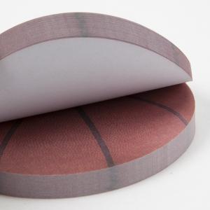 バスケットボール型 カラー付箋メモ帳 たっぷり 約100枚