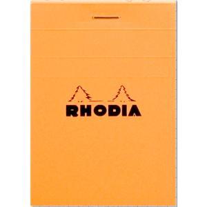 【No.11】メール便送料無料 ブロック ロディア オレンジ BLOC RHODIA【No.11】