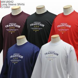 ベンチウォーマー BENCH WARMER ロングスリーブ シャツ BW18042 バスケ ロングTシャツ 長袖|basketballpro