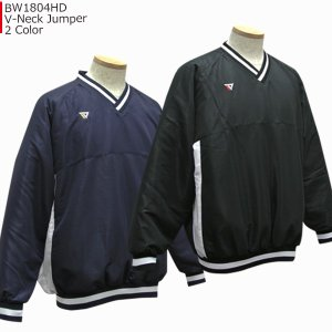 ベンチウォーマー BENCH WARMER Vネックジャンパー BW1804HD バスケ 防寒|basketballpro