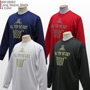 「セール」ベンチウォーマー BENCH WARMER ロングスリーブ シャツ BW18082 バスケ ロングTシャツ 長袖|basketballpro