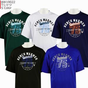 「1点限りネコポス対応」ベンチウォーマー BENCH WARMER Tシャツ BW19022 バスケ スポーツ|basketballpro