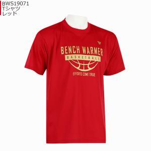 「1点限りネコポス対応」ベンチウォーマー BENCH WARMER Tシャツ BWS19071|basketballpro