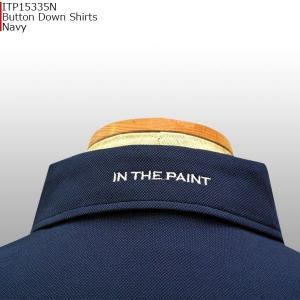 インザペイント IN THE PAINT ボタンダウン ポロシャツ ITP15335N バスケ|basketballpro|03