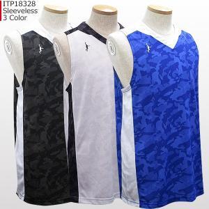 「1点限りネコポス対応」インザペイント IN THE PAINT スリーブレスシャツ  ITP18328 バスケ スポーツ 袖なし|basketballpro