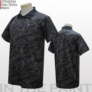 インザペイント IN THE PAINT DS カモ ポロシャツ ITP18334 バスケ|basketballpro