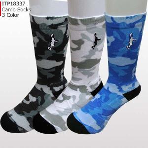 「1点限りネコポス対応」インザペイント IN THE PAINT CAMO ソックス ITP18337 バスケ 靴下 スポーツ バッソク|basketballpro