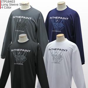 インザペイント IN THE PAINT ロングスリーブシャツ ITP18403|basketballpro