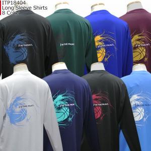 「ポイント15倍」インザペイント IN THE PAINT ロングスリーブシャツ ITP18404 バスケ スポーツ ロンT 長袖 Tシャツ|basketballpro