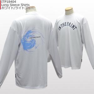 「セール」インザペイント IN THE PAINT ロングスリーブシャツ ITP18404 バスケ スポーツ ロンT 長袖 Tシャツ|basketballpro|02