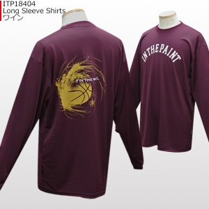 「セール」インザペイント IN THE PAINT ロングスリーブシャツ ITP18404 バスケ スポーツ ロンT 長袖 Tシャツ|basketballpro|11
