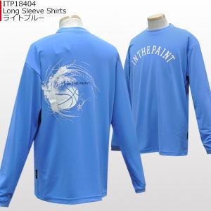 「セール」インザペイント IN THE PAINT ロングスリーブシャツ ITP18404 バスケ スポーツ ロンT 長袖 Tシャツ|basketballpro|06