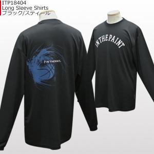 「セール」インザペイント IN THE PAINT ロングスリーブシャツ ITP18404 バスケ スポーツ ロンT 長袖 Tシャツ|basketballpro|07