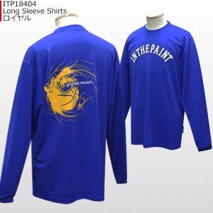 「セール」インザペイント IN THE PAINT ロングスリーブシャツ ITP18404 バスケ スポーツ ロンT 長袖 Tシャツ|basketballpro|08