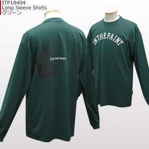 「セール」インザペイント IN THE PAINT ロングスリーブシャツ ITP18404 バスケ スポーツ ロンT 長袖 Tシャツ|basketballpro|09
