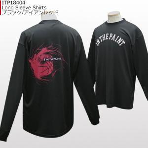 「セール」インザペイント IN THE PAINT ロングスリーブシャツ ITP18404 バスケ スポーツ ロンT 長袖 Tシャツ|basketballpro|10
