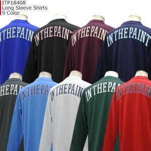 インザペイント IN THE PAINT ロングスリーブシャツ ITP18408|basketballpro