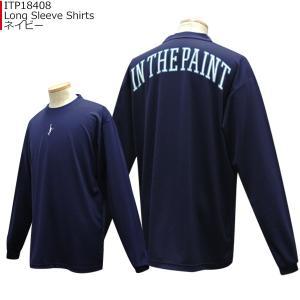 「セール」インザペイント IN THE PAINT ロングスリーブシャツ ITP18408|basketballpro|02