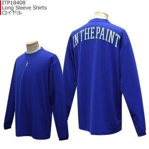 「セール」インザペイント IN THE PAINT ロングスリーブシャツ ITP18408|basketballpro|05