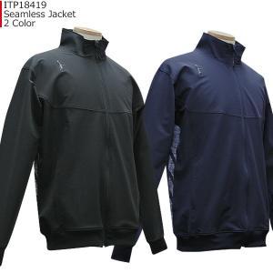 インザペイント IN THE PAINT シームレス ジャケット ITP18419 バスケ スポーツ 防寒 アウトドア ランニング ジョギング ウェア|basketballpro