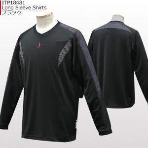 インザペイント IN THE PAINT ロングスリーブシャツ ITP18481|basketballpro