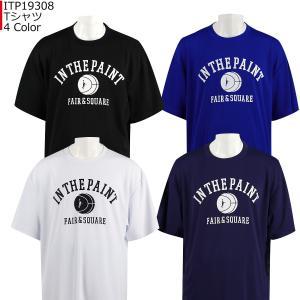 「1点限りネコポス対応」インザペイント IN THE PAINT Tシャツ ITP19308 バスケ 半袖 スポーツ ティーシャツ|basketballpro