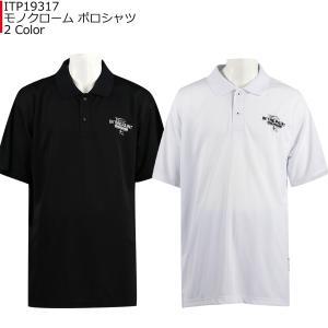 インザペイント IN THE PAINT モノクローム ポロシャツ ITP19317 バスケ|basketballpro