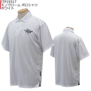 インザペイント IN THE PAINT モノクローム ポロシャツ ITP19317 バスケ|basketballpro|02