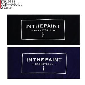「1点限りネコポス対応」インザペイント IN THE PAINT スポーツタオル ITP19335|basketballpro