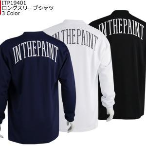 インザペイント IN THE PAINT ロングスリーブシャツ ITP19401|basketballpro