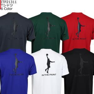 「1点限りネコポス対応」インザペイント IN THE PAINT Tシャツ ITP21311 バスケ 半袖 スポーツ ティーシャツ|basketballpro