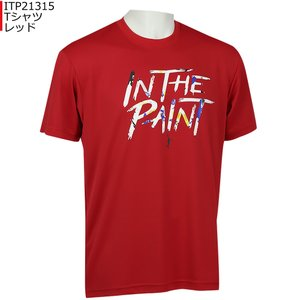 「1点限りネコポス対応」インザペイント IN THE PAINT Tシャツ ITP21315 バスケ 半袖 スポーツ ティーシャツ|basketballpro