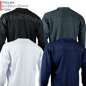 インザペイント IN THE PAINT ロングスリーブシャツ ITP21404 バスケ スポーツ ロンT 長袖|basketballpro
