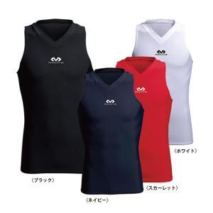 「1点限りネコポス対応」マクダビッド Vネック インナーシャツ M885|basketballpro