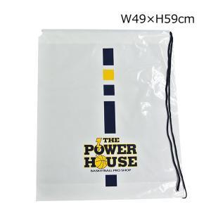 POWER HOUSE パワーハウス オリジナル ひも付き ビニールバッグ P-BAG バスケ|basketballpro