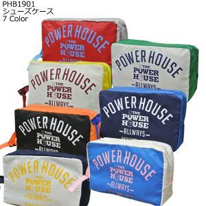 「1点限りネコポス対応」POWER HOUSE パワーハウス シューズケース PHB1901 バスケ スポーツ 靴入れ|basketballpro