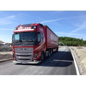 予約2016年4-6月以降発売予定Orland Transport VOLVOボルボ FH4 Globetrotter XL カーテンサイダートレーラー 3軸 トラック /WSI 建設機械模型 工事車両 1/50