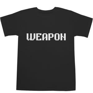 WEAPON Tシャツ【T-shirts】【ティーシャツ】