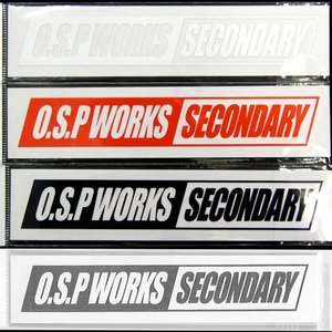 OSP ワークスステッカー S 【メール便配送可】 【まとめ送料割】【osp5】 bass-infinity