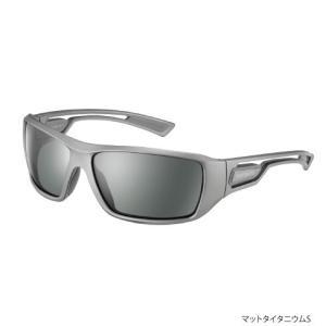 ●シマノ フィッシンググラス-RE HG-008M マットタイタニウム/スモーク (78822) 【まとめ送料割】|bass-infinity