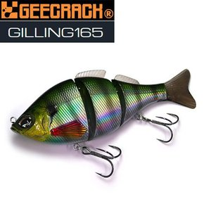 ジークラック GEECRACK ギリング165-HF(ハイフローティング) 【まとめ送料割】|bass-infinity