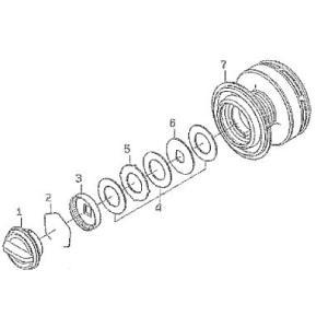 ●ダイワ 12キャタリナ4020PE-H(4960652828055)用 純正標準スプール (部品コード128681) 【キャンセル及び返品不可商品】 【まとめ送料割】|bass-infinity