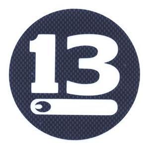 ●ブリーデン BREADEN デカール (13CIRCLE 230)カーボン調 【メール便配送可】 【まとめ送料割】 bass-infinity
