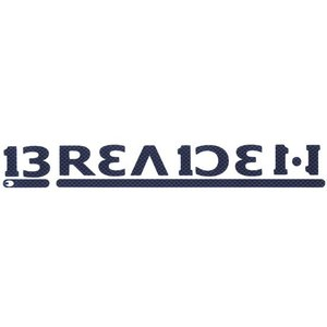 ●ブリーデン BREADEN デカール (BREADEN230)カーボン調 【メール便配送可】 【まとめ送料割】 bass-infinity